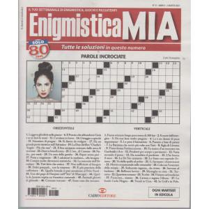 Enigmistica Mia - n. 31  -2 agosto  2021- settimanale