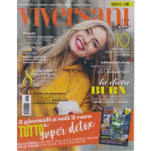Viversani e Belli  - n.13-  - 26/3/2021 -  settimanale + Tutto su....super detox - 2 riviste
