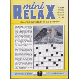 Mini Relax - n. 2021- settimanale - 16/2/2021