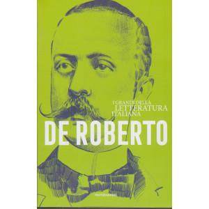 I  grandi della letteratura italiana - De Roberto - n. 35 - settimanale -22/12/2020