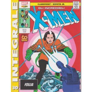 Marvel Integrale  - Gli incredibili X-Men - n.30 - Follia-   mensile - 10 giugno 2021