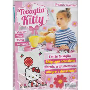 Piccoli ricami baby - Tovaglia Kitty 120x180 cm - - n. 100 - mensile -