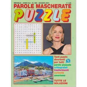 Parole mascherate puzzle - n. 482 - giugno    2021 - mensile