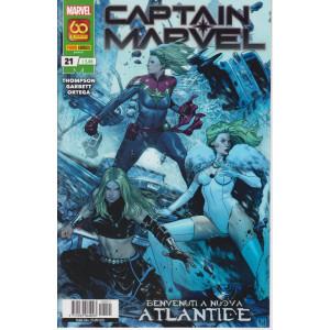 Captain Marvel - n. 21 -Benvenuti a nuova Atlantide -  mensile -29 aprile  2021