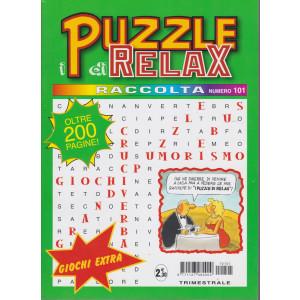 Raccolta I puzzle di Relax - n. 101 - trimestrale - febbraio - aprile 2021 - oltre 200 pagine!