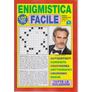 Enigmistica facile - n. 176 - mensile - febbraio 2021 - 100 pagine