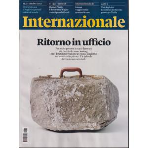 Internazionale - n. 1431 - 15/21 ottobre     2021 - settimanale -