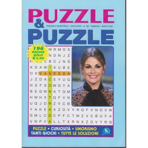 Puzzle & Puzzle - n. 168 - bimestrale - febbraio - marzo 2021 - 196 pagine