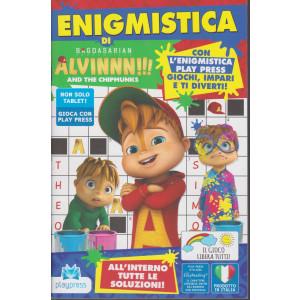 Enigmistica di Alvinnn!!!  - And the chipmunks - n. 9 - dicembre 2020 - gennaio 2021- bimestrale