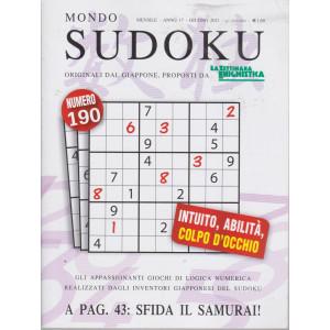 Mondo Sudoku - n. 190 - mensile - giugno 2021 -