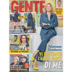 Gente - n.42 - settimanale -30/10/2021