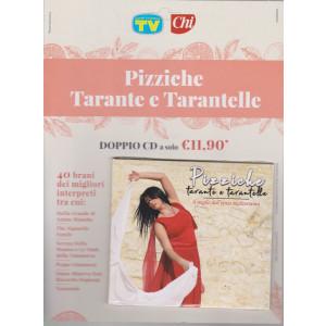 Cd Sorrisi speciale n. 13 -Pizziche Tarante e Tarantelle - settembre   2021- settimanale -doppio cd