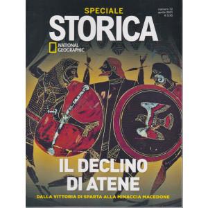 Storica Speciale - National Geographic - Il declino di Atene - n. 52 - bimestrale - aprile  2021