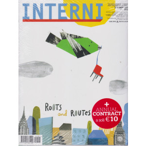 Interni + Interni annual contract   2021 - n. 5  - maggio  2021 - mensile - 2 riviste