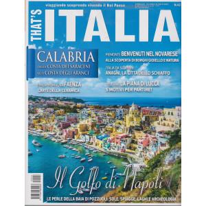 That's Italia - n. 42 -giugno - luglio  2021 - bimestrale