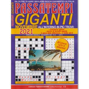 Passatempi giganti - n. 3 - novembre 2021 - mensile