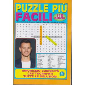 Puzzle Piu' Facili - n. 76 - bimestrale - febbraio - marzo 2021 - 110 giochi
