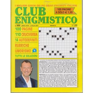 Club enigmistico - n. 669 - luglio   2021 - mensile - 100 pagine
