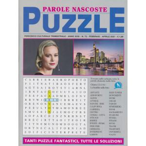 Parole Nascoste Puzzle - n. 72 - trimestrale - febbraio - aprile 2021
