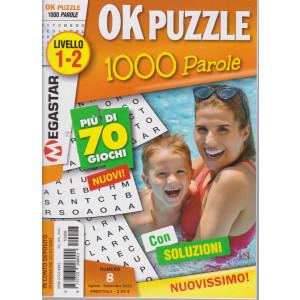 Ok Puzzle 1000 Parole - n. 8 - Livello 1-2 - agosto - settembre  2021- bimestrale -