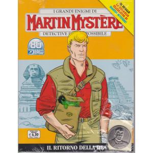 I grandi enigmi di Martin Mystere -Il ritorno della dea  - n. 374- aprile  2021 - bimestrale