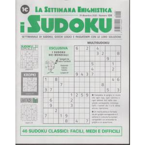 La settimana enigmistica - i sudoku - n. 128 - 31 dicembre 2020 - settimanale