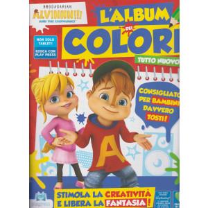 Alvinnn!!! And the chipmunks l'album dei colori n. 10 - gernnaio - febbraio 2021- bimestrale -