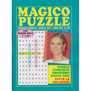 Magico Puzzle - n. 320 - mensile - gennaio 2021- 100 pagine