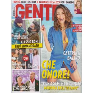 Gente - n. 18  - settimanale- 15/5/2021