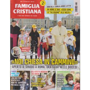 Famiglia Cristiana - n-42     - settimanale-  17 ottobre  2021 -