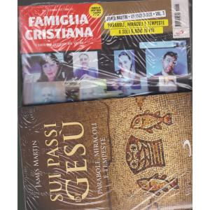 Famiglia Cristiana + il libro di James Martin - Sui passi di Gesù - Parabole, miracoli e tempeste  n. 1- settimanale -3 gennaio 2021    - rivista + libro