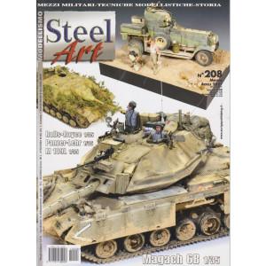 Steel Art - n. 208 - mensile - aprile   2021