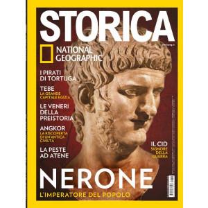 Storica - National Geographic - n. 140 - Nerone. L'imperatore del popolo - ottobre 2020 - mensile