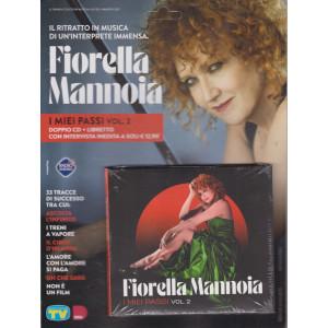 Cd Musicali di Sorrisi - n. 5 -Fiorella Mannoia - 4 maggio 2021 - settimanale - I miei passi - vol. 2 - doppio cd + libretto