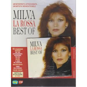 Cd Sorrisi speciale n. 10 -Milva la rossa best of- 7 maggio 2021- settimanale - doppio cd