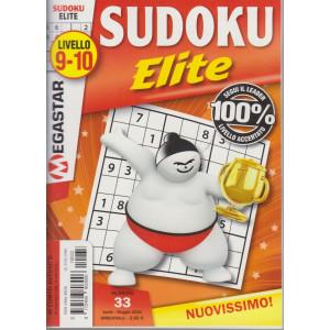 Sudoku Elite - n. 33 - livello 9-10 - aprile - maggio  2021- bimestrale