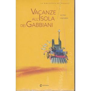 La biblioteca dei ragazzi -  Vacanze all'isola dei gabbiani - n. 9  -  Astrid Lindgren -   settimanale - 6/3/2021