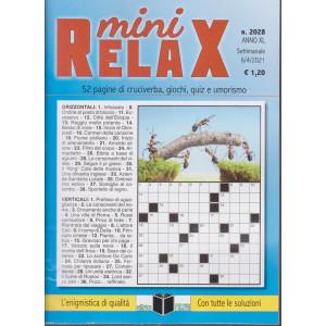 Mini Relax - n. 2028- settimanale -6/4/2021