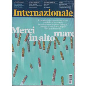 Internazionale - n. 1429 - 1/7 ottobre     2021 - settimanale - 2 riviste