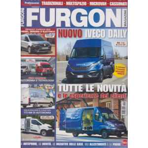 Furgoni Magazine - n. 45 - bimestrale - gennaio - febbraio 2021 - 2 riviste
