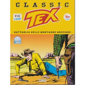 Tex Classic - Battaglia sulle montagne rocciose-  n. 118 - quattordicinale -10 settembre 2021