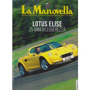 La Manovella - n. 12 -Lotus Elise 25 anni di leggerezza -  -  dicembre  -  2020 - mensile