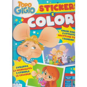 Topo Gigio - Stickers e colori - n. 3 - aprile - maggio 2021 - bimestrale -