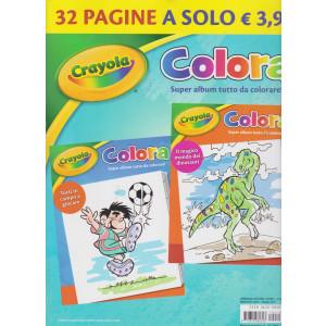 Crayola Colora - n. 12 - maggio 2021 - bimestrale - 32 pagine