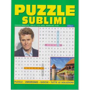 Puzzle sublimi - n. 68 - bimestrale -aprile - maggio 2021