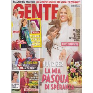 Gente - n. 13  - settimanale- 10/4/2021
