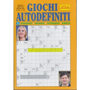 Giochi Autodefiniti - n.302- mensile - agosto 2021