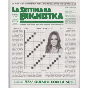 La Settimana Enigmistica - n. 4649 - 29/4/2021 - settimanale