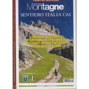 Gli speciali di Meridiani Montagne - Sentiero Italia Cai - bimestrale - aprile 2021- n. 26