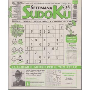 Settimana Sudoku - n. 814- settimanale -19  marzo  2021